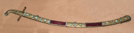 sabre: Sabre, inlaid with precious stones