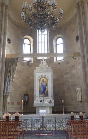 apostolic: Rostov-on-Don, Russia -August 06,2016: Armenian Apostolic Church of Surb Harutyun (St. Resurrection)
