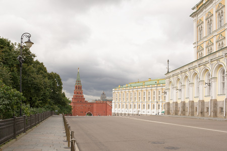 armory: Moscow. Kremlin Armory is one of oldest museums, established in 1808. Kremlin Armoury is currently home to Russian Diamond Fund Editorial