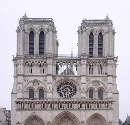 quoted: Paris, France- January 01.2017: Notre Dame Cathedral on a winter day