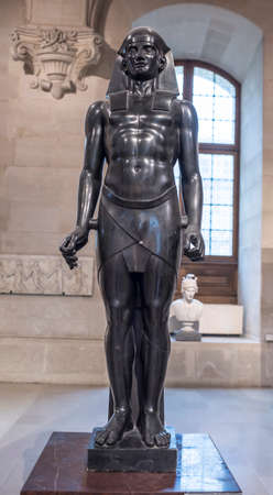Paris,France- May 03,2017: Osiris.Antoine-Guillaume Grandjacquet. Louvre Editorial