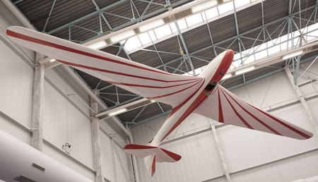 Le Bourget; Paris; France- May 04; 2017: Aircraft in the Museum of Astronautics and Aviation Le Bourget Editorial