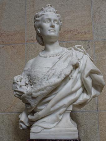 Paris,France- May 02,2017: Museum of Orsay. Princess Mathilde- Jean-Baptiste Carpeaux.1862