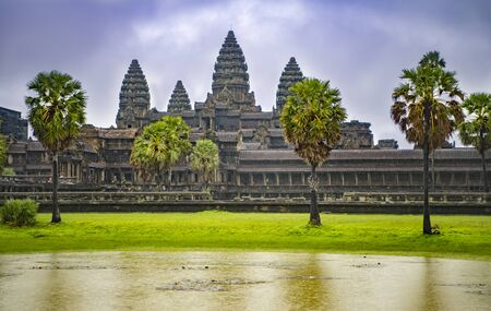 Angkor Wat is the largest temple in the world
