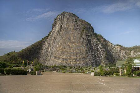 Golden Buddha Mountain (Khao Chi Chan) in Pattaya, Thailand