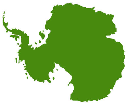 vector illustration of Antarctica map