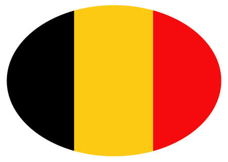 illustration of Belgium flag