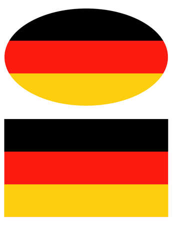 vector illustration of Germany flag
