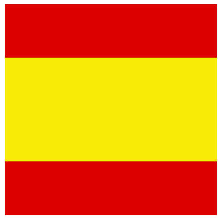 vector illustration of Spain flag