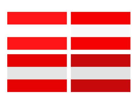 vector illustration of Austria flag