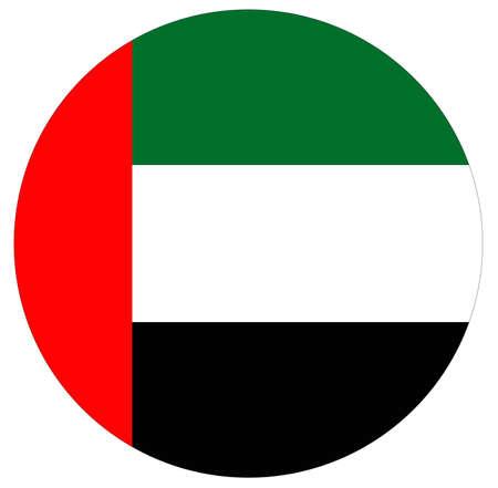 vector illustration of United Arab Emirates flag 向量圖像