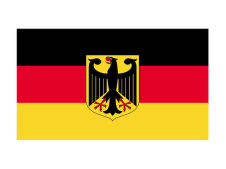vector illustration of Germany flag Çizim