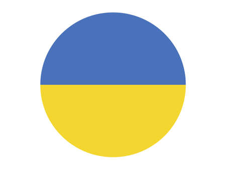 vector illustration of Ukraine flag