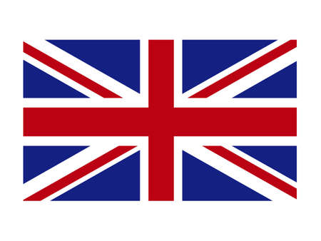 vector illustration of United Kingdom flag Vecteurs