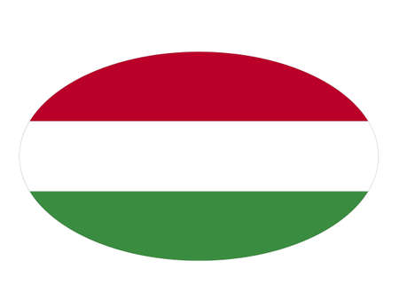 vector illustration of Hungary flag