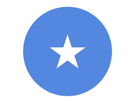 vector illustration of Somalia flag