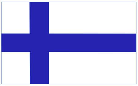 finland flag Иллюстрация