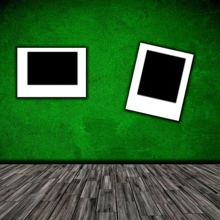 photo frame in room