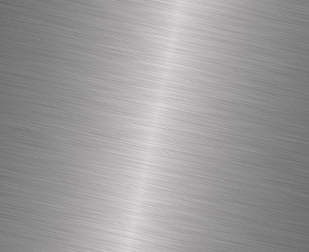 stainless steel: brushed metal