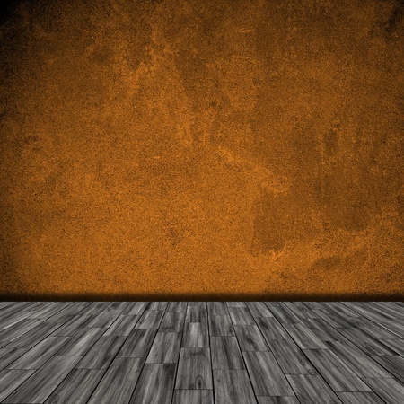 empty room for background