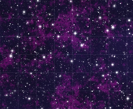 stars in space Stock Photo