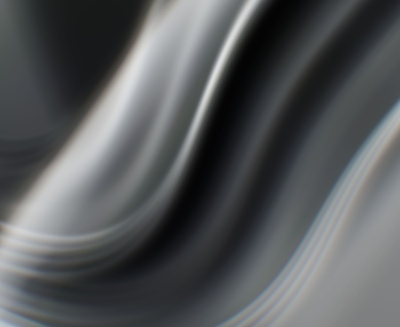 black wave Stock Photo
