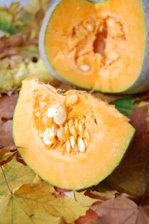 Pumpkin and pumpkin slice