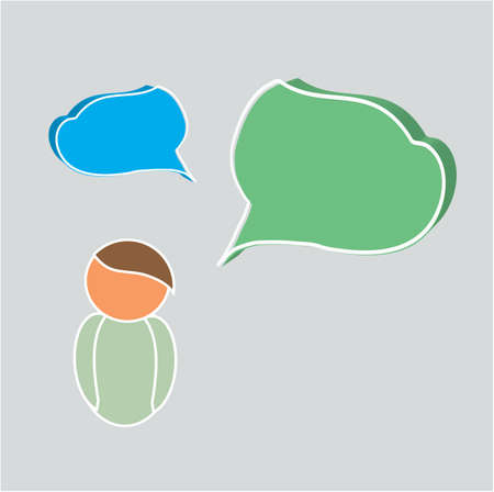 speaker box: Dialogue Text Box and Person Speaker