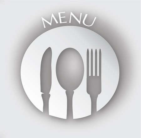 main dishes: Men� Restaurante cubierta, dise�o