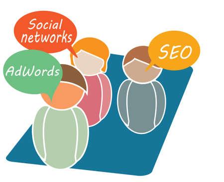Online Marketing Tools Stock Vector - 17952740