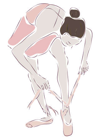 gracious:  Ballerina  Ballet Dancer Drawing Illustration