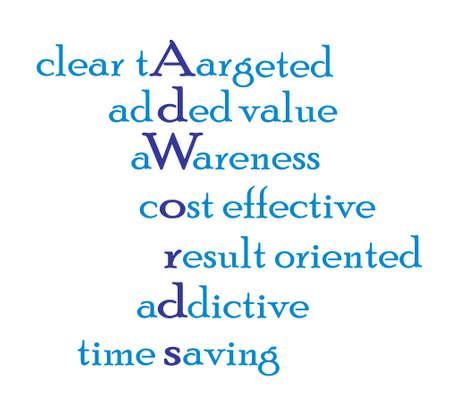 Adwords Marketing Digital Graphic. La publicité sur Internet Banque d'images - 31595181