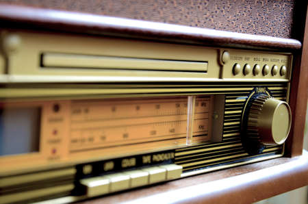 retro radio: Retro Design Radio receiver device