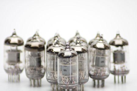 Old  lamp bulbs photo