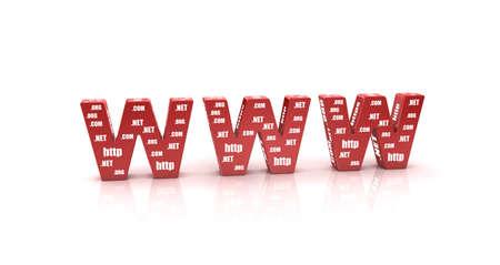 webhoster: 3D Illustration