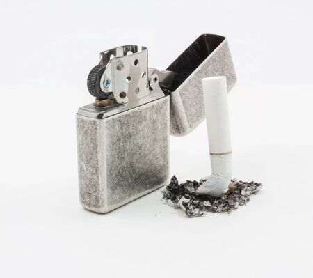 throwaway: Lighter on the top of cigarettes