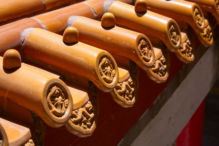 eaves: traditional Chinese style eaves Stock Photo
