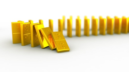 Gold domino dollar