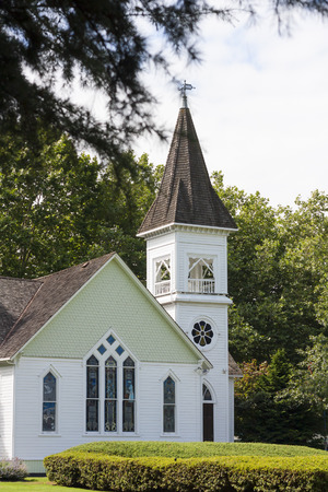 country church: Country church at summer day
