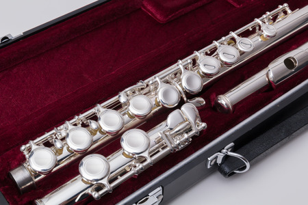 Silver flute photo