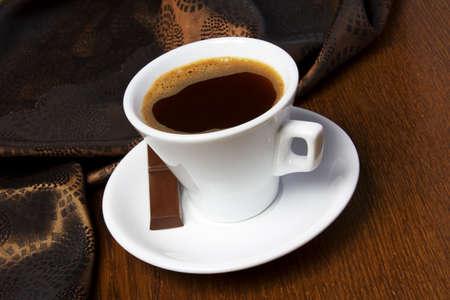 bonbon chocolat: Les grains de caf� et le caf� avec des bonbons de chocolat