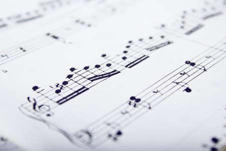scores: Music scores Stock Photo
