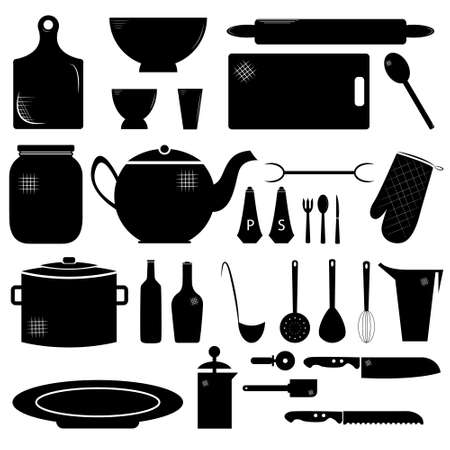 stuff: Kitchen stuff Illustration