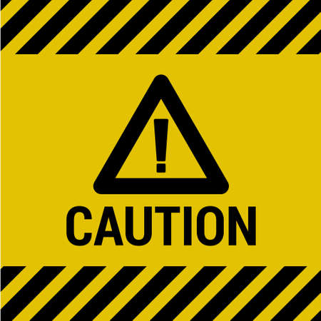 Caution Sign Illustration