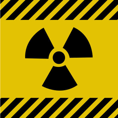 Radioactive sign Illustration