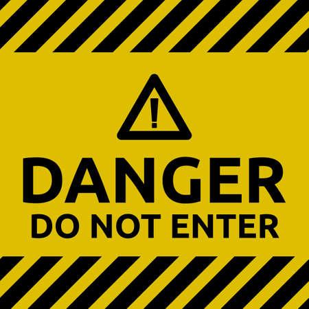 Basic Do not enter sign