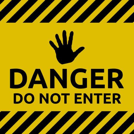 no entrance: Restriction : Do not enter sign