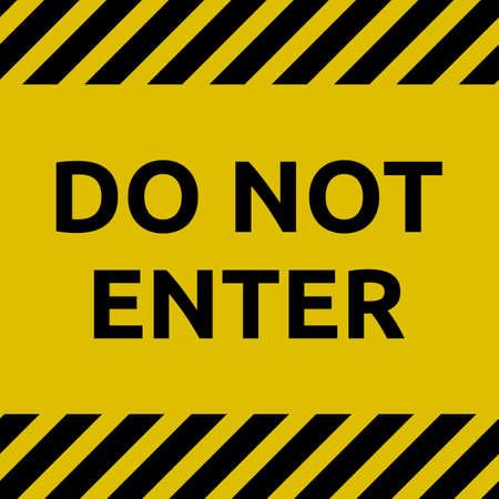 Rule :Do not enter sign