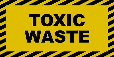 Toxic Waste Sign Illustration