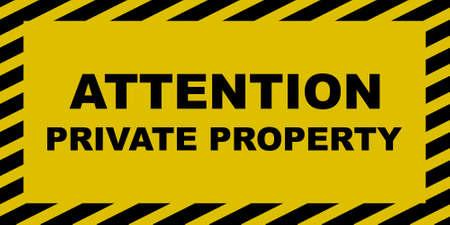 prohibido el paso: Signo de la propiedad privada